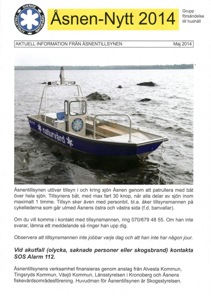 Åsnen-nytt 2014