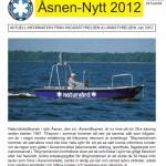 Åsnen Nytt 2012