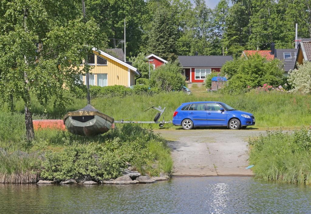 Båtrampen i Hulevik ska förbättras och är tillfälligt stängd under arbetet.