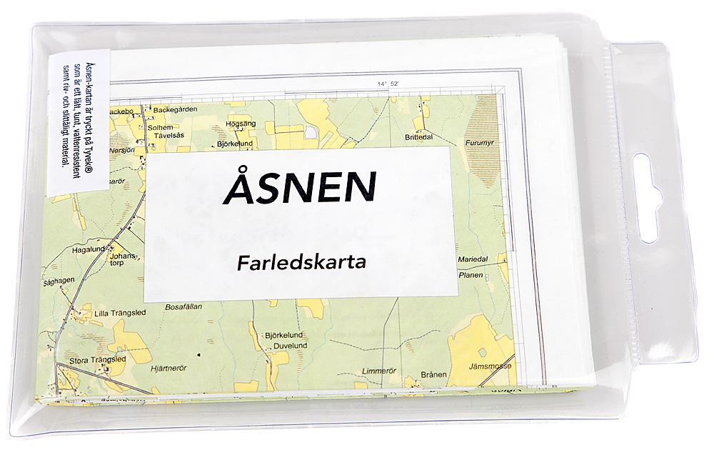 Nu finns Farledskartan över Åsnen att köpa.