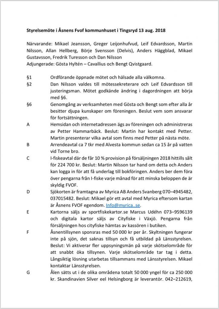 Protokoll från Åsnens Fiskevårdsområdesförenings styrelsemöte 2018-08-13 (Klicka på bilden för att hämta/öppna)